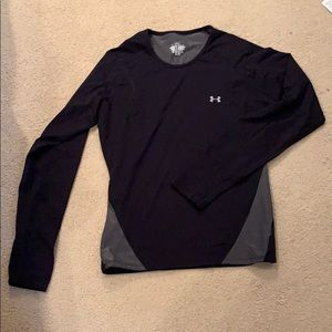 Black and Grey Under Armour long sleeve  Size: M